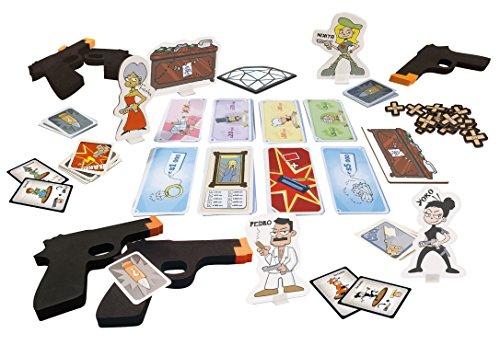 Asmodee 8960 Cash'N Guns Edición Italiana