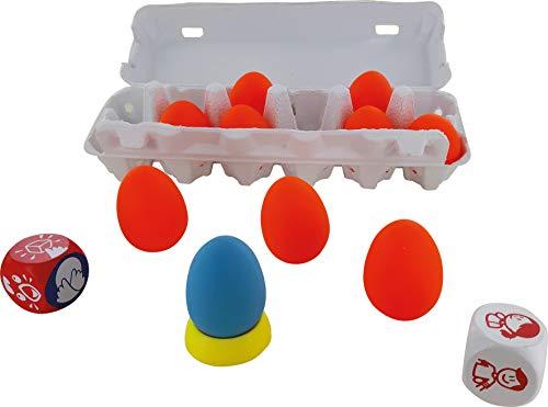 Asmodée-La Salsa Des œufs, Color jeu d'ambiance CGSALSA01