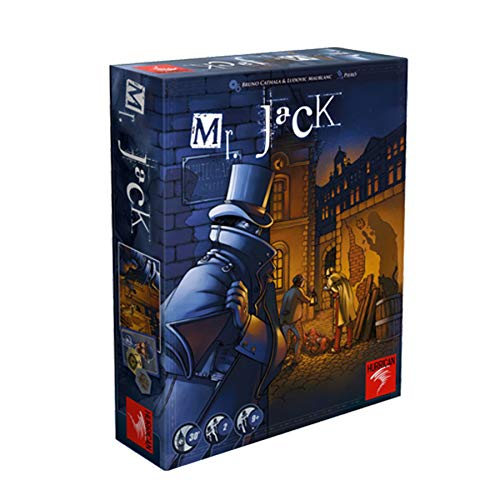 Asmodee- Mr. Jack Londres - Español, Color (MRJ05ML)
