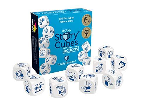 Asmodee Story Cubes: Acciones - Todas las versiones disponibles, Multilenguaje (ADE0STO03ML)
