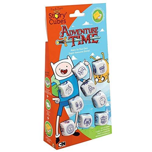 Asmodee Story Cubes Hora de Aventuras - Más versiones disponibles, Multilenguaje (CHSC0006)