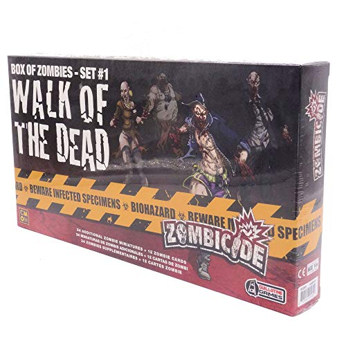 Asmodee- Zombicide-Walk of The Dead #1, EFCMZC17