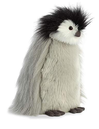 Aurora Luxe Boutique, Milly The Baby Emperor pingüino, 03510, Juguete Suave, Gris, 11 Pulgadas, Blanco y Negro, Idea de Regalo