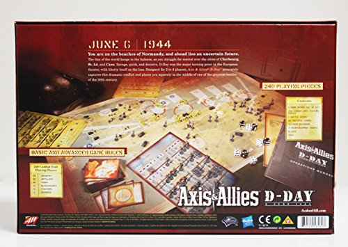 Avalon Hill Axis & Allies D-Day Game