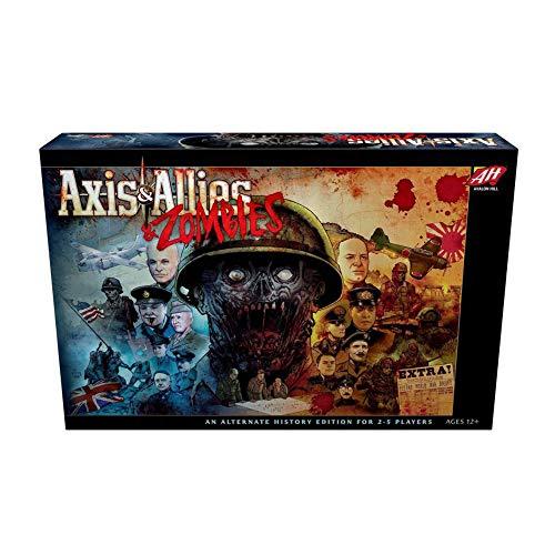 Avalon Hill / Wizards of the Coast: Axis & Allies and Zombies - Juego de Mesa (en inglés)