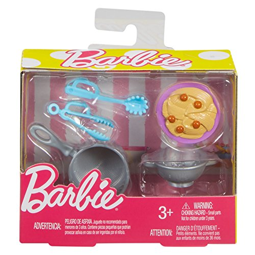 Barbie- Set de Accesorios, Multicolor (Mattel FHP72)
