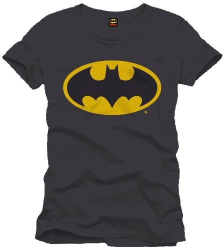Batman Logo - Camiseta para Hombre, Color Negro, Talla XL