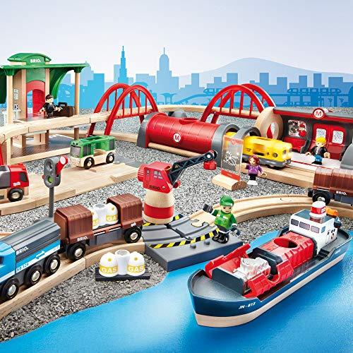 Brio 33052 Deluxe Railway Set - Set circuito de tren