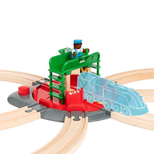 Brio - Plataforma giratoria con figura ( Ravensburger 33476) , color/modelo surtido