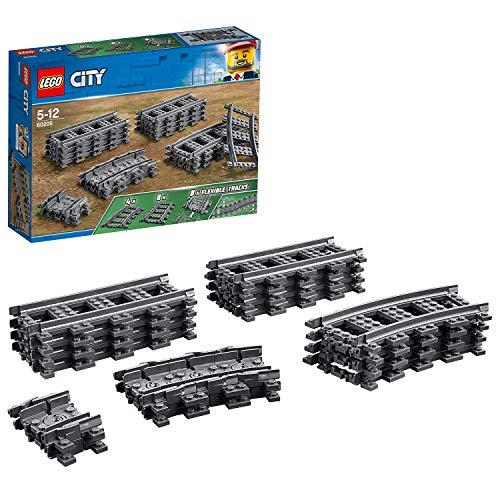 Carriles LEGO City (60205), juguetes infantiles - Juego de Construcción VíAs