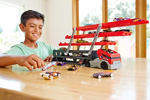 Cars 3 - Megacamión, coche de juguete (Mattel CKC09)