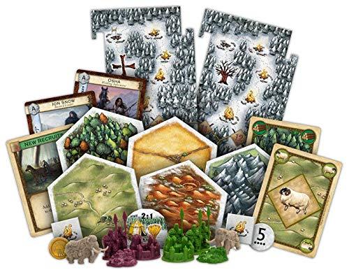 Catan Studios CN3016 Game of Thrones Catan: Brotherhood of The Watch 5-6 extensión de jugador, colores variados , color/modelo surtido