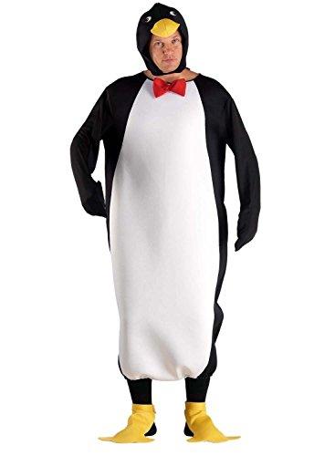 chiber Disfraces Disfraz de Pingüino para Adulto. Talla Única (M/L)