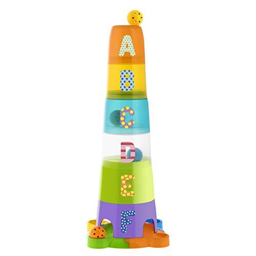 Chicco-00009308000000 Súper Torre Apilable, Multicolor (Artsana 13)