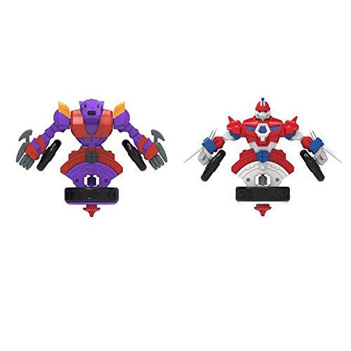 CYP BRANDS Pack de 2 Blazing y Rampage de Spin Racers (SR-24), Multicolor