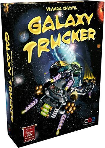 Czech Games Edition- Galaxy Trucker Juego de Mesa - Versión Inglesa