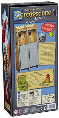 Devir - Carcassonne: La Torre, juego de mesa (BGCARTO)