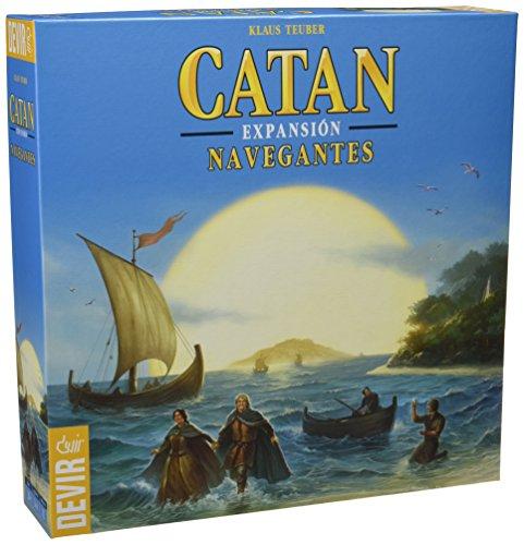 Devir - Catan, expansión Navegantes, juego de mesa (BGNAVEGANTES)