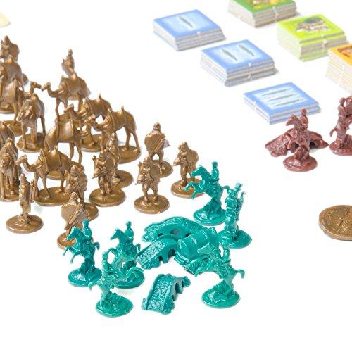 Devir - Catan, Mercaderes y Bárbaros, juego de mesa (BGMER56) - Ampliación para 5 y 6 jugadores