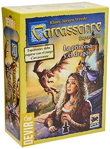 Devir - La princesa y el dragón, juego de mesa (BGCARPRI)