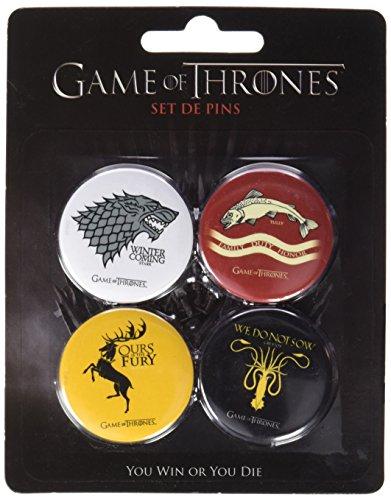 Dirac Game of Thrones Set B 4 Pins