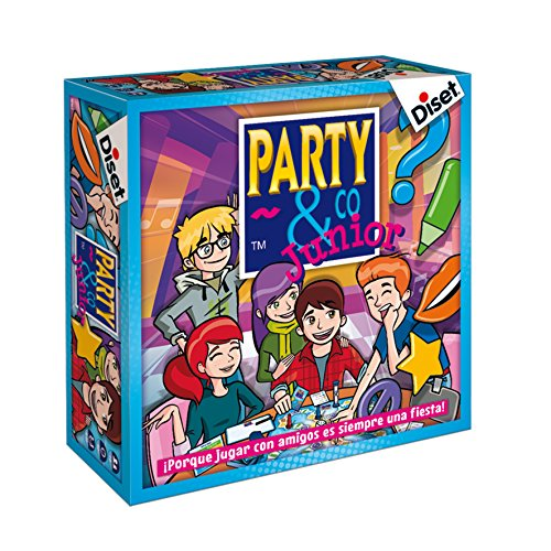 Diset- Juego Party & co Junior (10103)