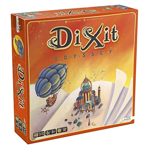 Dixit Odyssey original - Juego de mesa (Asmodée, DIX03ML1)