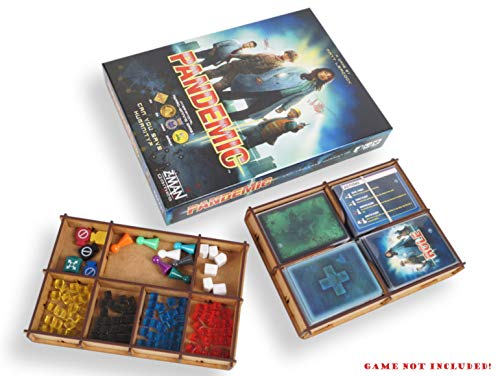 docsmagic.de Organizer Insert for Pandemic Box - Encarte
