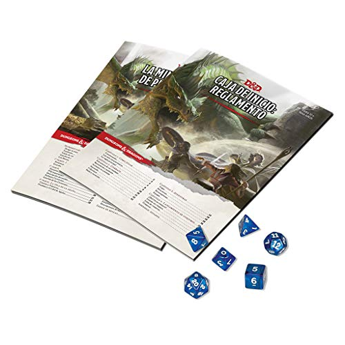 Dungeons & Dragons Caja de Inicio-español, Color (Edge Entertainment EEWCDD00)