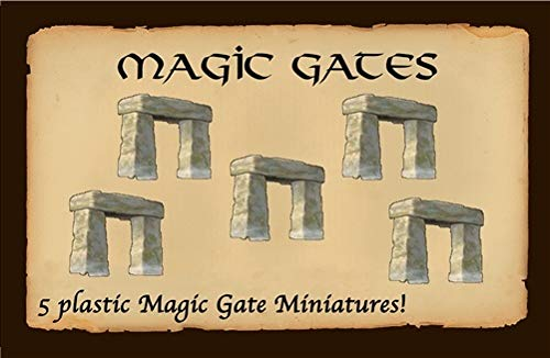 Eagle-Gryphon Games EAG01447 Defenders of The Realm Magic Gates Board Game