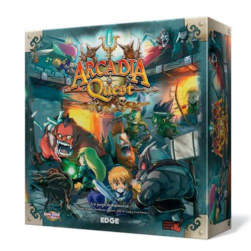 Edge Entertainment Arcadia Quest - Arcadia Quest, Juego de Mesa AQ01