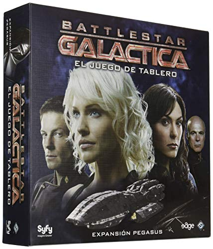 Edge Entertainment Battlestar Galactica - Expansión Pegasus, Juego de Mesa EDGBG02