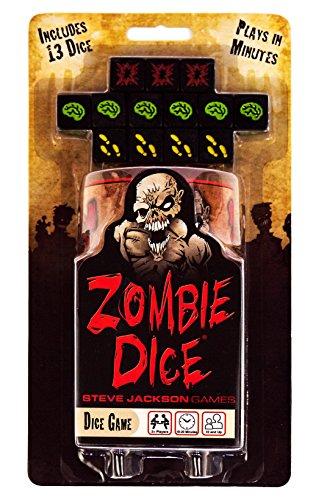 Edge Entertainment - Dados Zombies, Juego de Mesa (EDGSJ02) (versión en inglés)