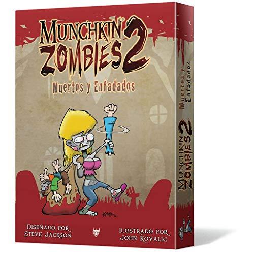 Edge Entertainment Munchkin Zombies 2. Muertos y enfadados-español, Color (EDGMZ02)