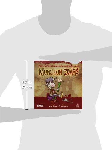 Edge Entertainment Munchkin Zombies - Juego de Mesa EDGMZ01