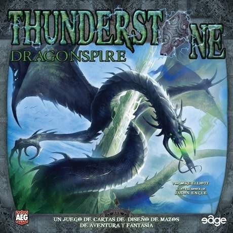 Edge Entertainment- Thunderstone - dragonspire - español, Color (EDGTS04)