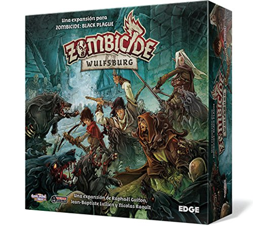 Edge Entertainment Zombicide - Wulfsburg, Juego de Mesa EDGBP002