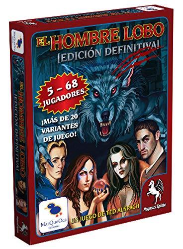 Ediciones MasQueoca - El Hombre Lobo Edicion Definitiva - Ultimate Werewolf (Español)
