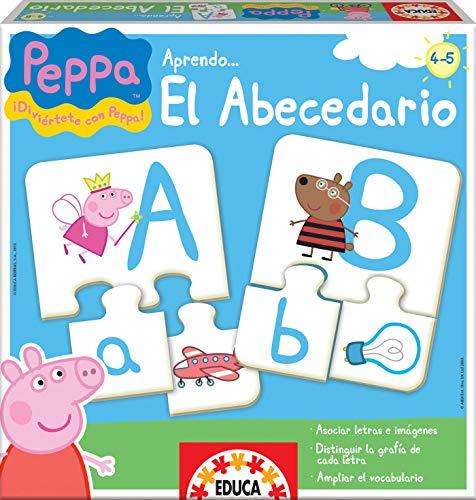 Educa Borras Puzzle Aprendo El Abecedario Peppa Pig (15652) , color/modelo surtido