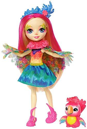 Enchantimals - Muñeca  Peeki Parrot - muñeca - (Mattel FJJ21)