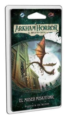 Fantasy Flight Games- Arkham Horror LCG - El museo Miskatonic - Español, Color (FFAHC03)