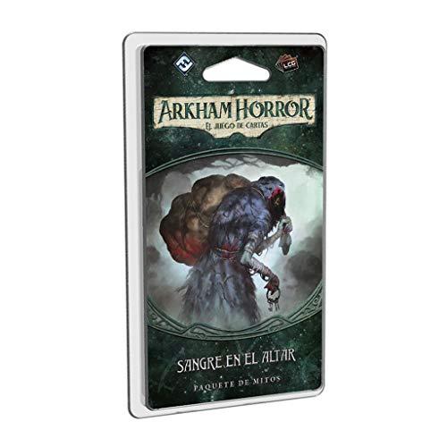 Fantasy Flight Games- Arkham Horror LCG - Sangre en el Altar - Español, Color (FFAHC05)