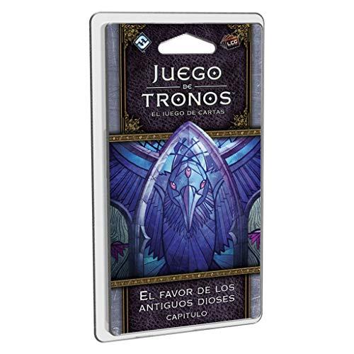 Fantasy Flight Games- Juego de tronos lcg: el favor de los antiguos dioses - español, Color (FFGT26) , color/modelo surtido