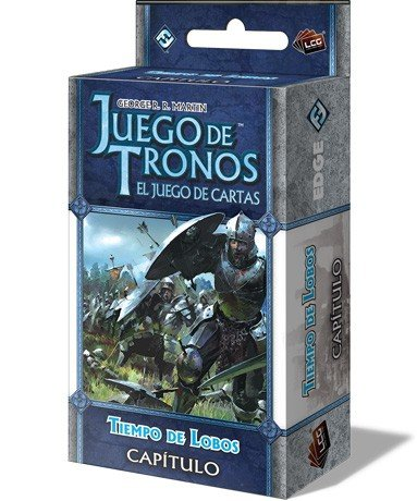 Fantasy Flight Games- Juego de Tronos LCG: Tiempo de Lobos - Español (EDGGOT111) , color/modelo surtido