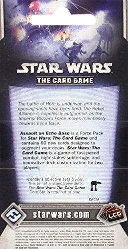 Fantasy Flight Games Star Wars lcg: Asalto a la Base Eco-español, única (EDGSWC05)