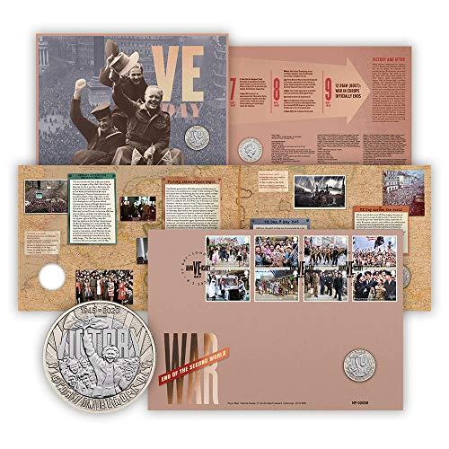 Fin de la Segunda Guerra Mundial, cubierta de monedas