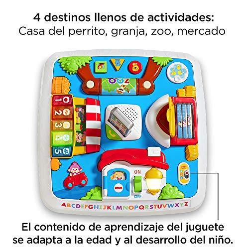 Fisher-Price - Mesa multiaprendizaje bilingüe -juguetes educativos - (Mattel DRH34)
