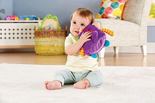Fisher-Price Peluche Monstruito risitas, juguete bebé +6 meses (Mattel DYM88)