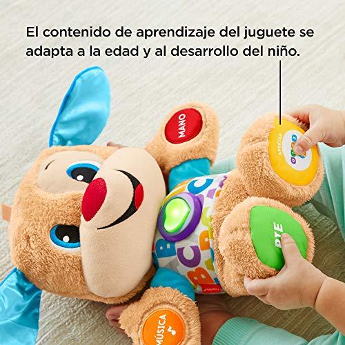 Fisher-Price Perrito primeros descubrimientos, juguete bebé +6 meses (Mattel FPM53)