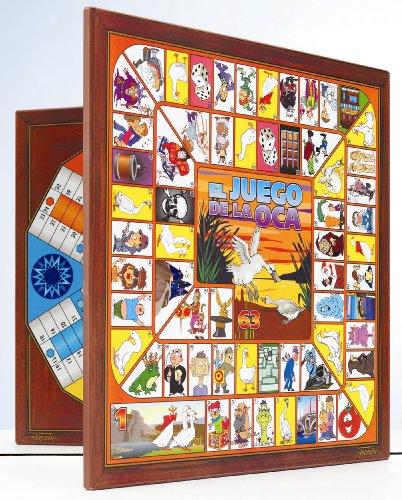 Fournier 521107 - Tablero Parchís/Oca 6 Jugadores 40X40 Cm